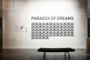 Paradox of dreams, installation view